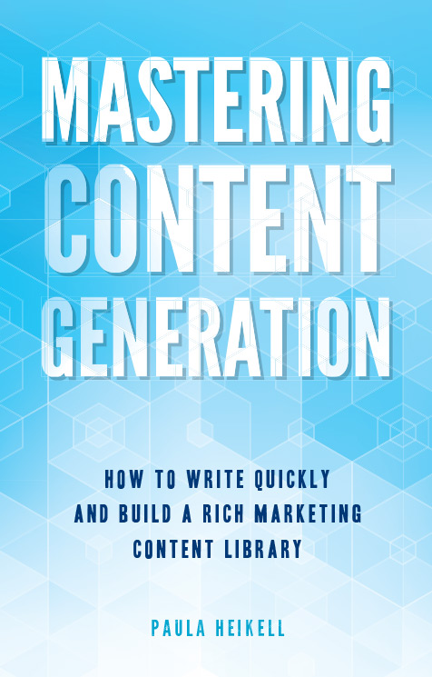 Mastering Content Generation Book Cover